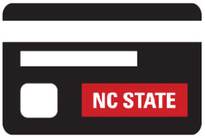 icon of nc state procurement card